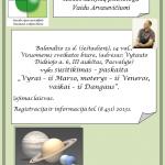 Skelbimas ARVASEVIČIAUS PASKAITAI foto 2015-04
